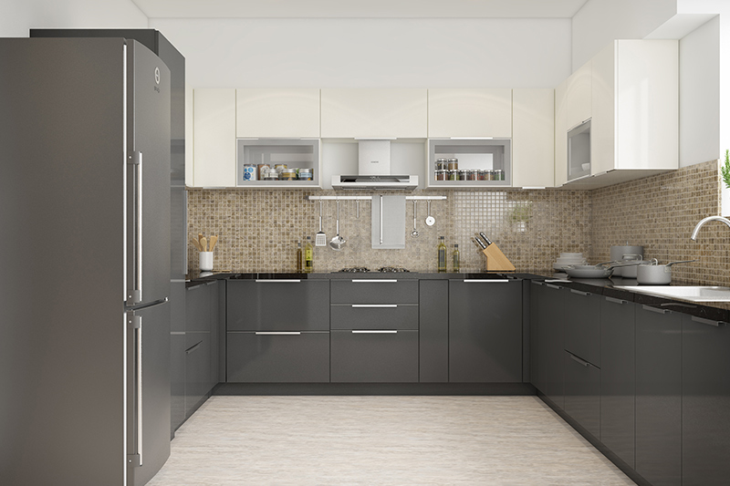 L shaped kitchen cabinets which make your kitchen look neat and clean for l shaped kitchen designs for small kitchens