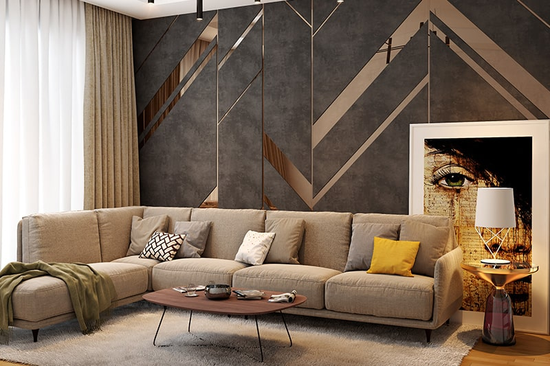 10 Brilliant Living Room Wall Decor Ideas | Design Cafe on Living Room Design Ideas  id=38159