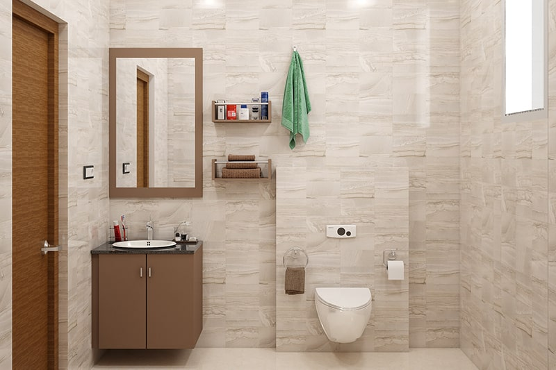 Vastu colors for bathroom can be choose white, lime green, and light blue these are the best suitable room colour according to vastu