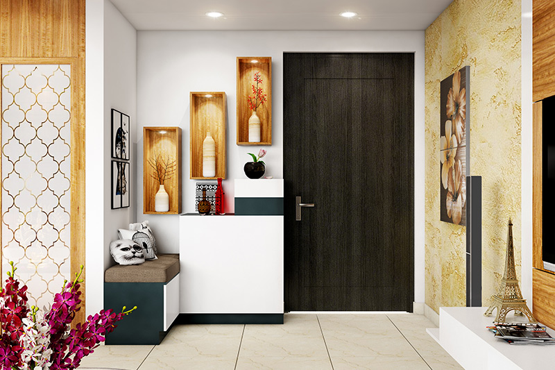 Main door vastu for flats which should be bigger than any of other doors of your home for house entrance vastu