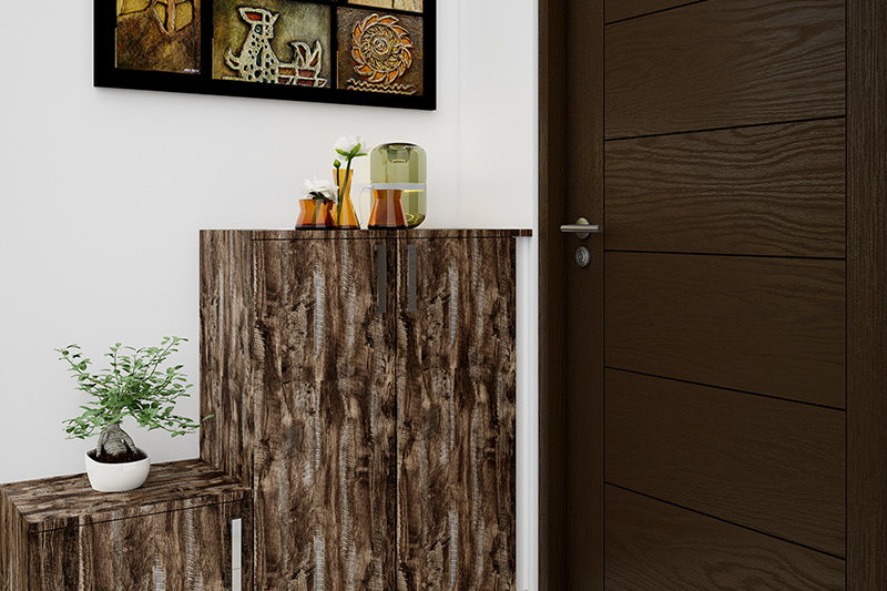 Vastu entrance for your home where wood and teak are the best materials for your main door vastu