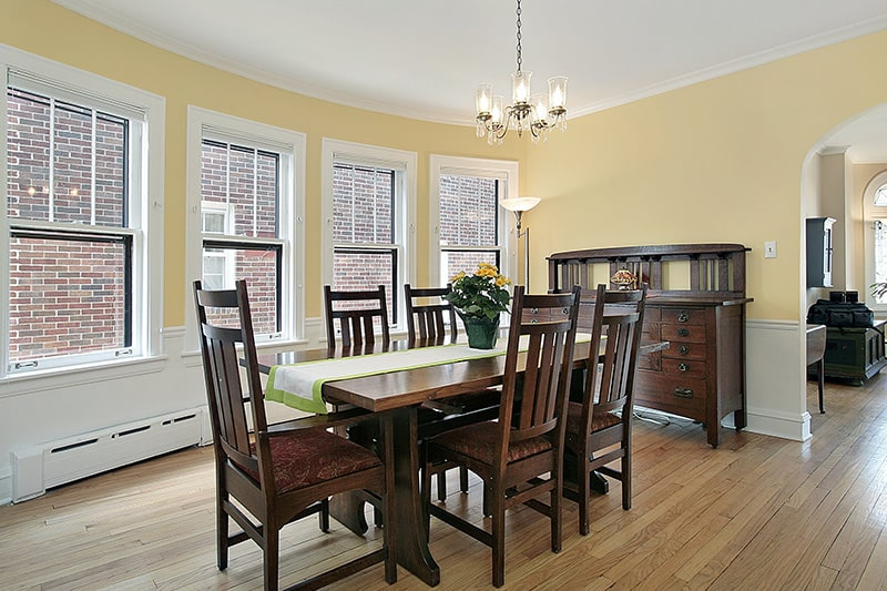 Teak wood dining table gives classic look and these teak wood dining table 6 seater is famous