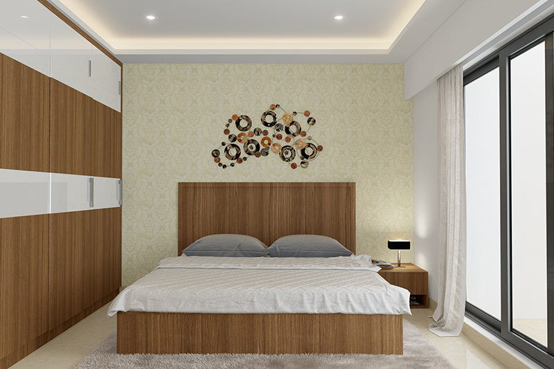 Bedroom wall decor ideas where metallic accents are a great way to make bedroom walls pop for diy bedroom wall decor