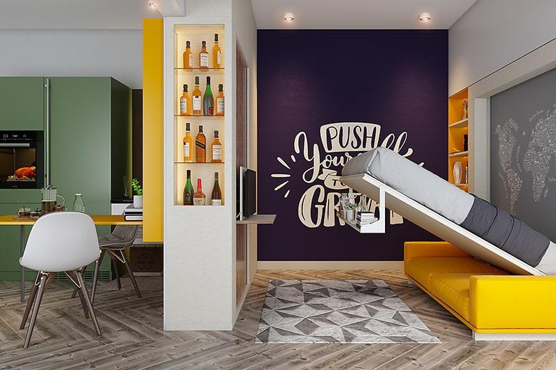 Best space saving design trends for mumbai mumbaikar small homes in 2020