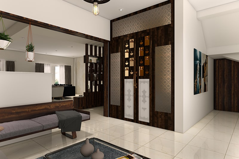 10 Pooja Room Designs For Indian Homes Design Cafe
