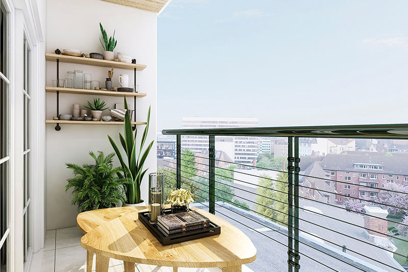 Balcony decoration ideas india a spare wall means more storage space to decorate your balcony