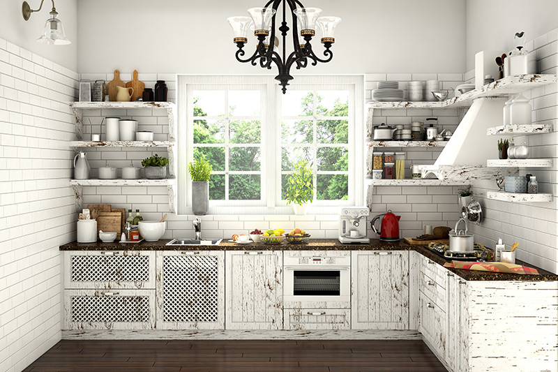 What materials and colours do I need for perfect modular kitchen