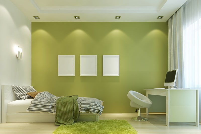 Olive shade green paint colors for your home and olive green suits bedrooms as well as the living area