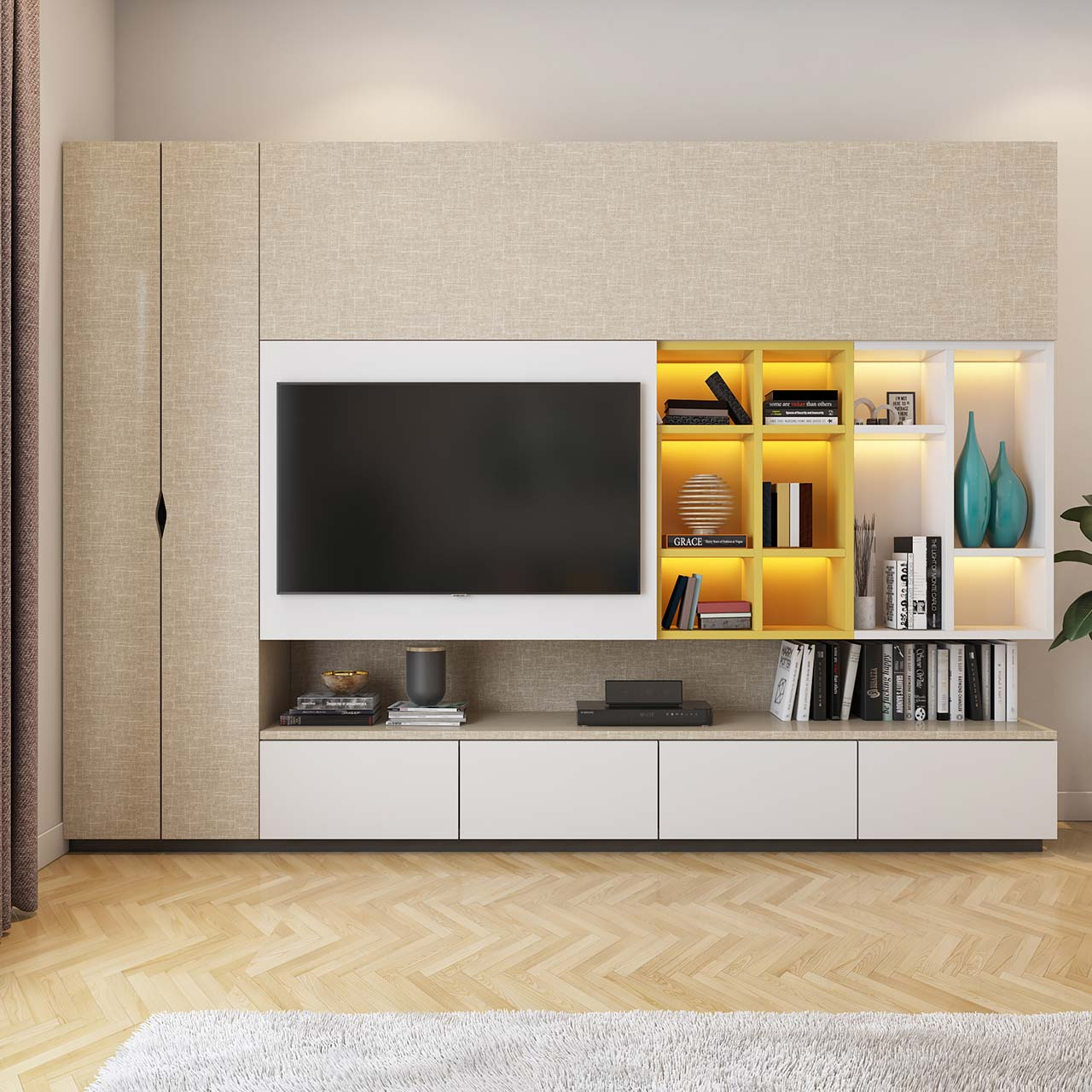 Home Design Ideas Bangalore: Modern TV Unit Design Ideas For Your Home
