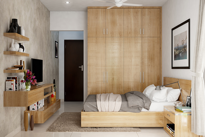 Modern Cupboard Design For Small Bedroom | Design Cafe