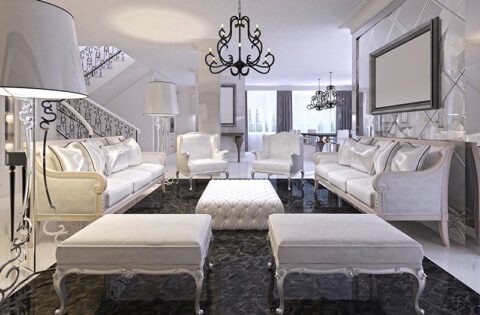 Marble flooring design for hall with clean, durable, elegant and versatile - these are the features that make marble a marvellous material.