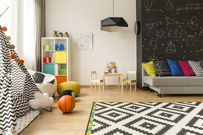Kids room wall decor for your home which includes chic and patterned rug