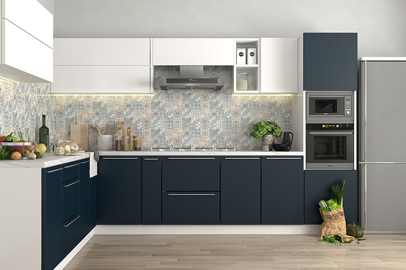 Minimal style kitchen is a one of the modular kitchen styles, it is designed for minimalists