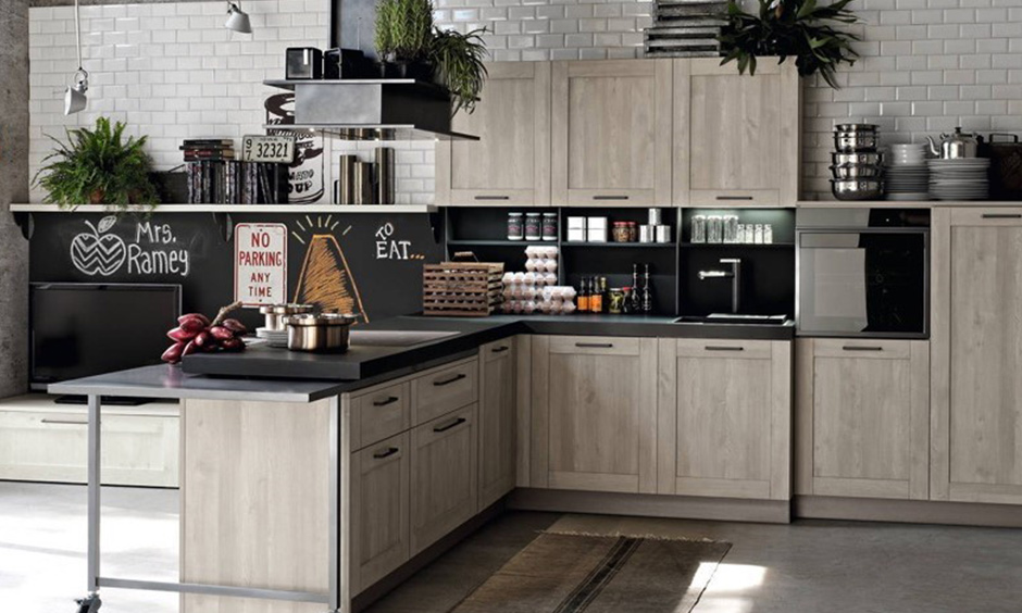 Kitchen with chimney ductless which harmonises with the open-plan kitchen to your kitchen chimney design.
