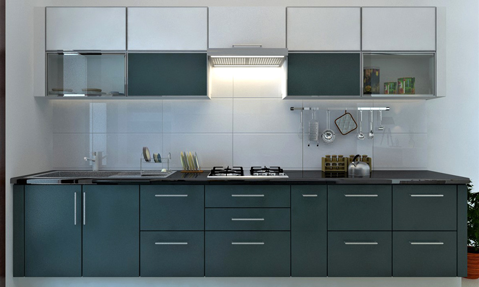 Modern kitchen chimney with a baffle filter is a low-maintenance but highly durable option while design kitchen chimney