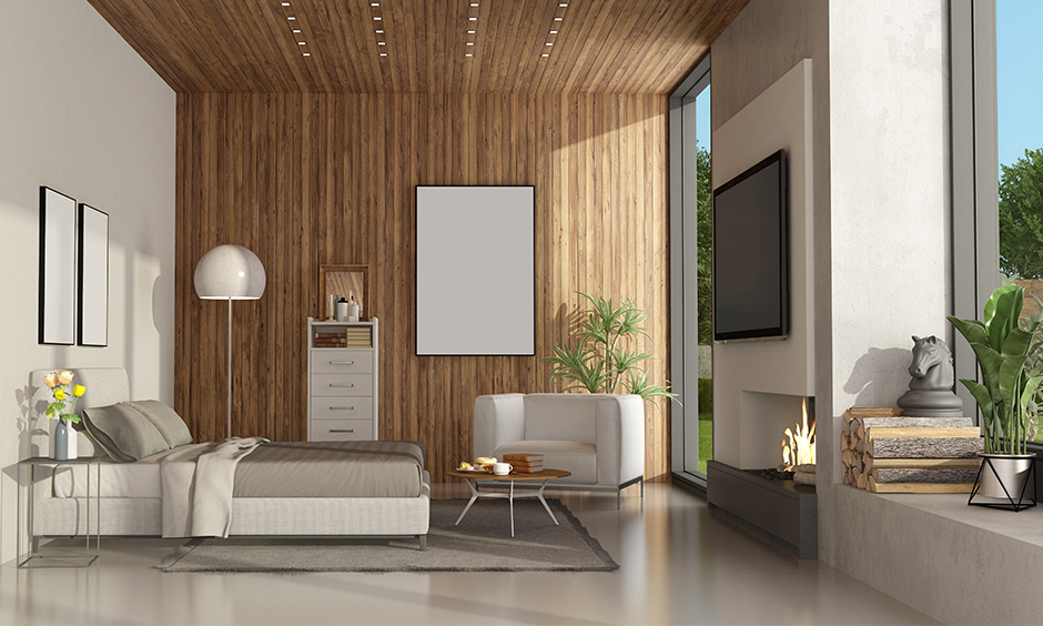 Wooden Wall Designs And Panels For Bedroom Design Cafe