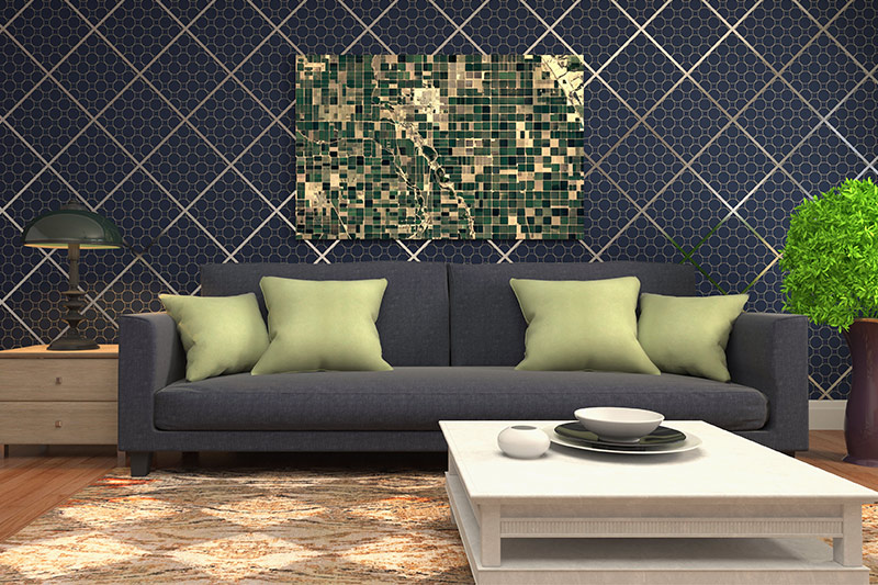 Wall texture ideas for living room geometric patterns dazzle up living room walls.