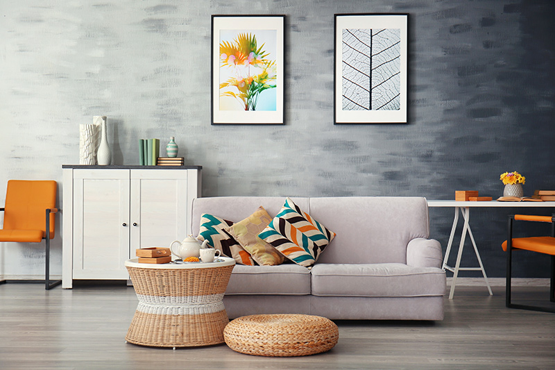 Living room wall texture design ideas for your home