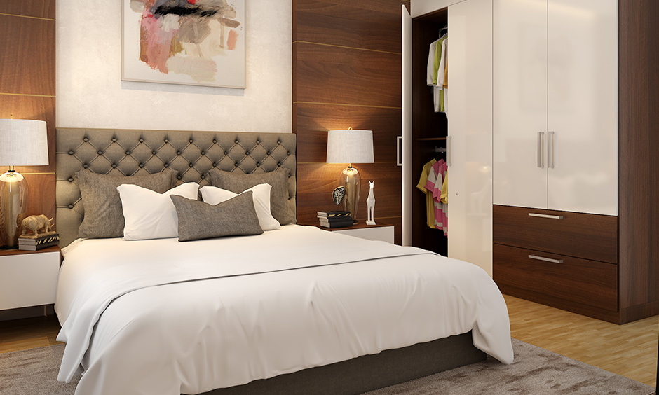 Veneer bedroom furniture and cupboards often used for wardrobes, cots, dressers, TV Units and study areas