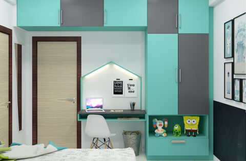 Kids bedroom storage ideas for small spaces