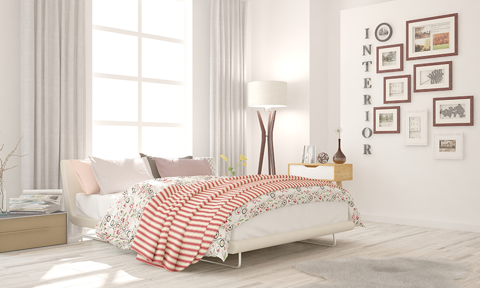 Cosy romantic bedroom ideas white is bright, relaxing and can play around with decor and accessories.