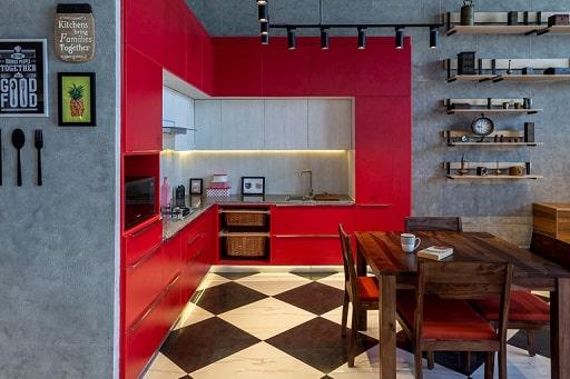 Modular Kitchen Design Concepts at Design Cafe Interior Design Experience Store Hyderabad