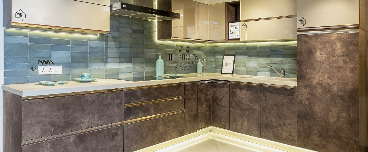 Modular Kitchens on display at experience centre in hyderabad
