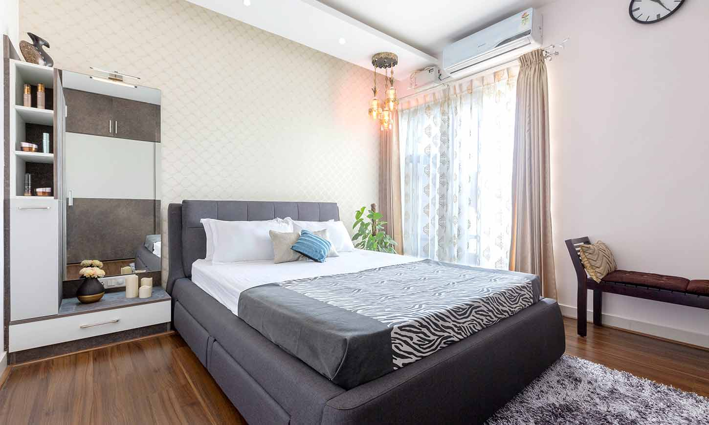 Bedroom interior design bangalore by design cafe interiors for your home