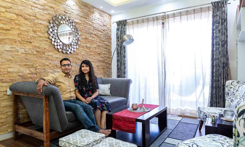 Durga petals interiors done by design cafe interiors in bangalore