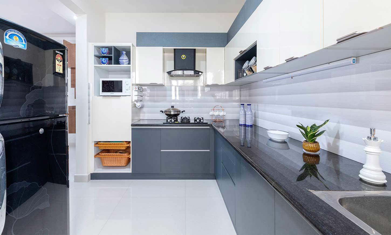 Modular kitchen bangalore done by interior designers in marathahalli