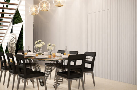 Dining room lighting ideas with hanging lights for dining room.