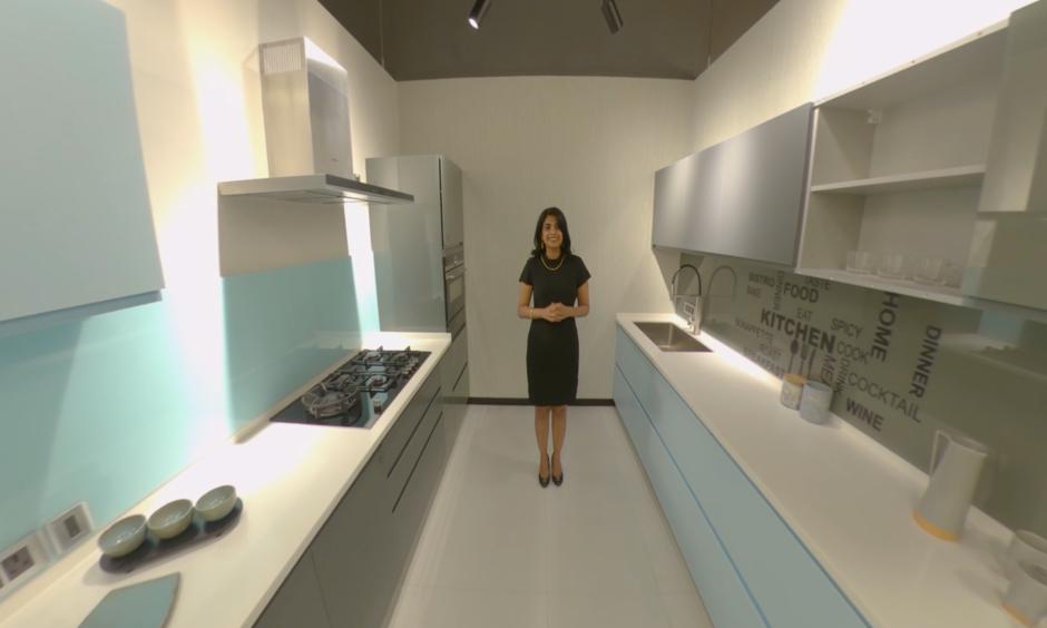 Modern sleek kitchen design for your home.