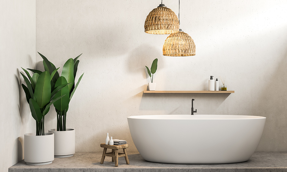 Bathtub design which you can make like a spa