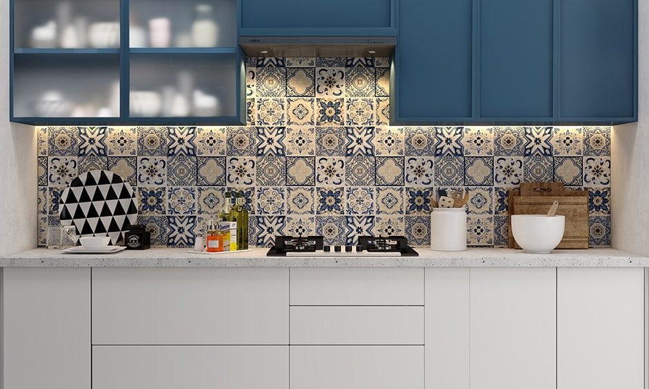 Frosted glass kitchen cabinets are type of glass kitchen cabinets in small kitchen