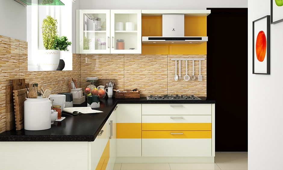 Glass kitchen cabinets for your home