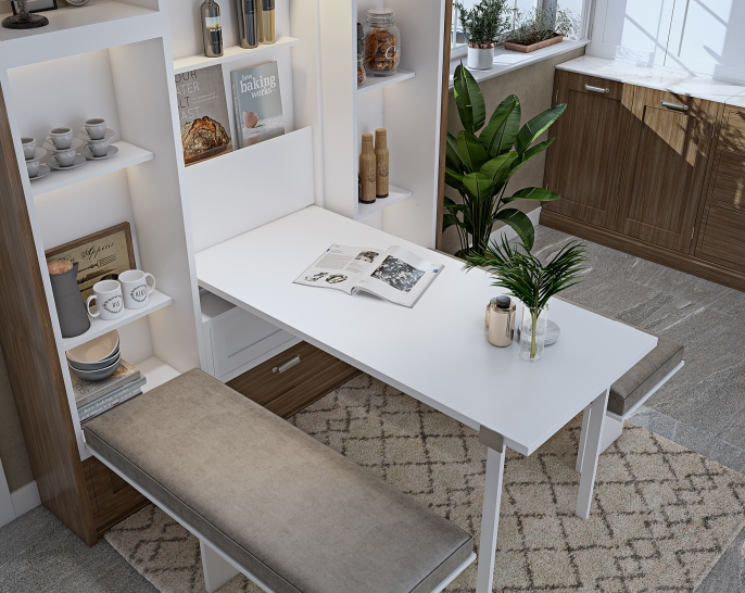 Innovative Space Saving Interior Design Solutions from Design Cafe