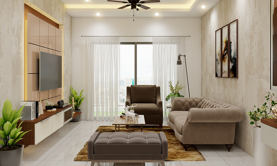3 Bhk Flat Designed In Dnr Atmosphere Bangalore Design Cafe