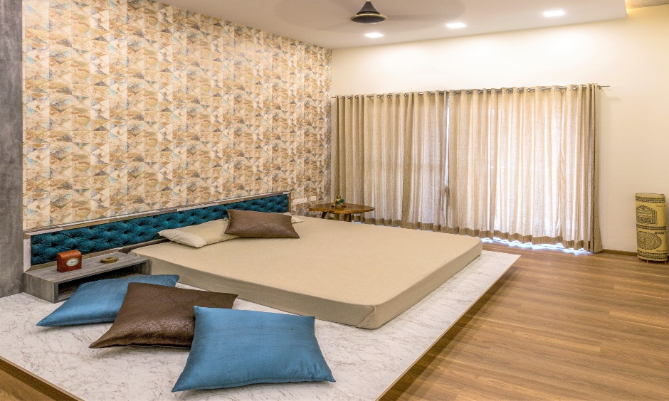 Low floor bed design for your home