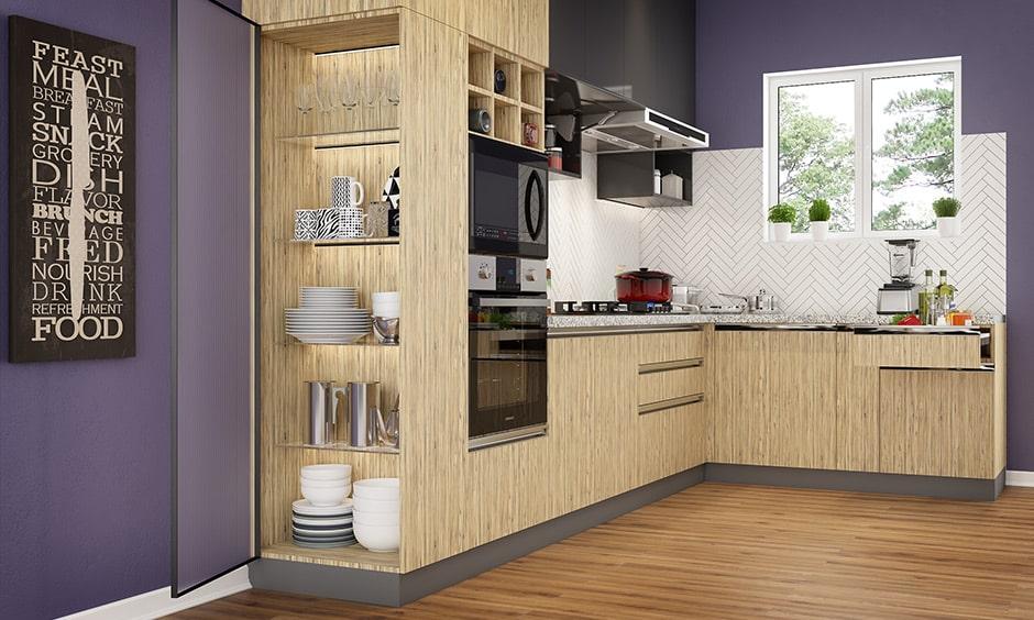 1 Bhk Kitchen Interior Design