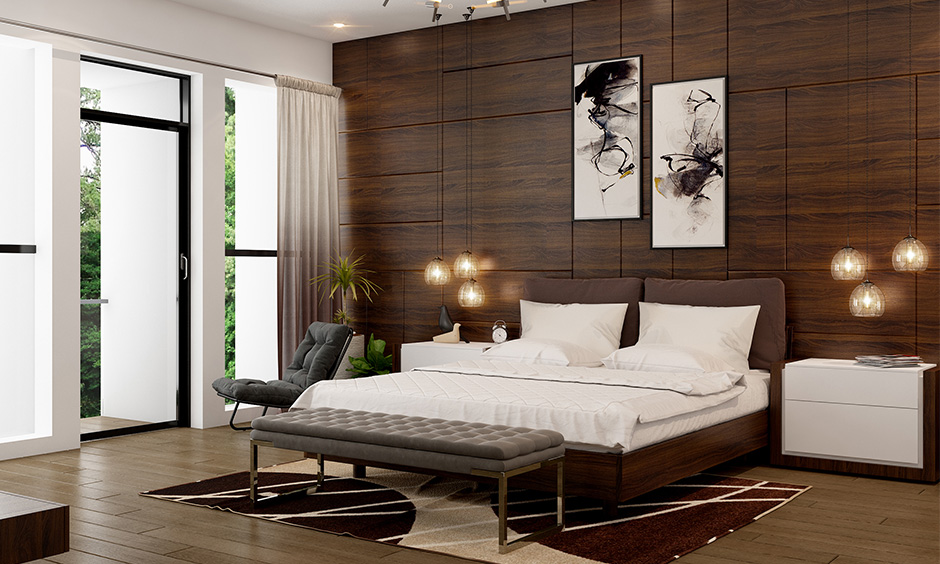 Area rug placement in bedroom with aesthetics with lesser damage to your pretty floor