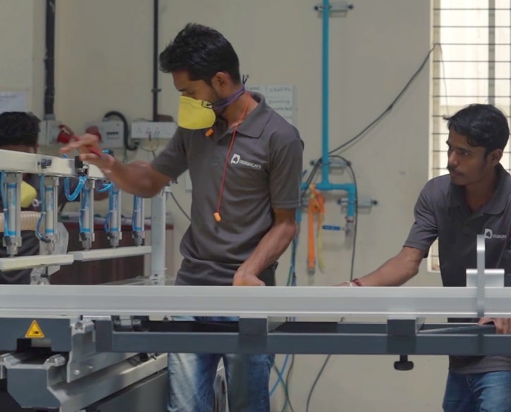Production begins at our factory
