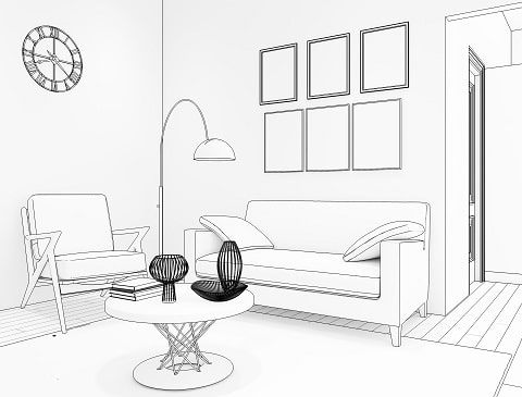 A Guide on How To Decide Your Living Room Interiors
