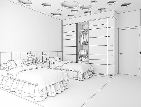 A Home Interior Guide To Kids Bedroom Interior Design