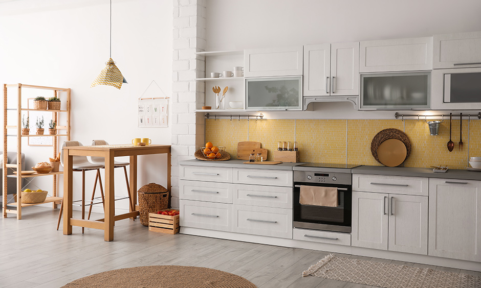 One wall kitchen design ideas for your kitchen