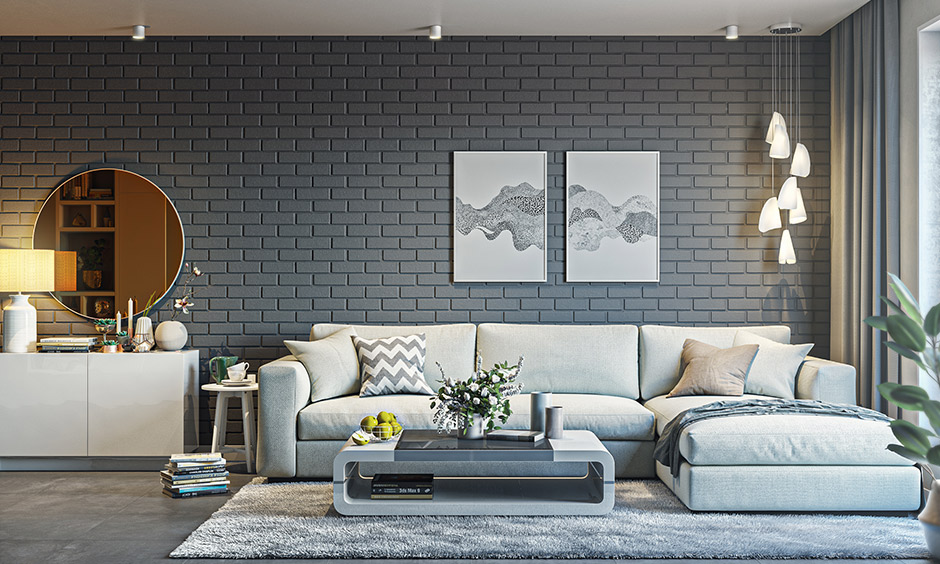 Choosing durable sofa upholstery fabric for the living room, so wear and tear are minimal.