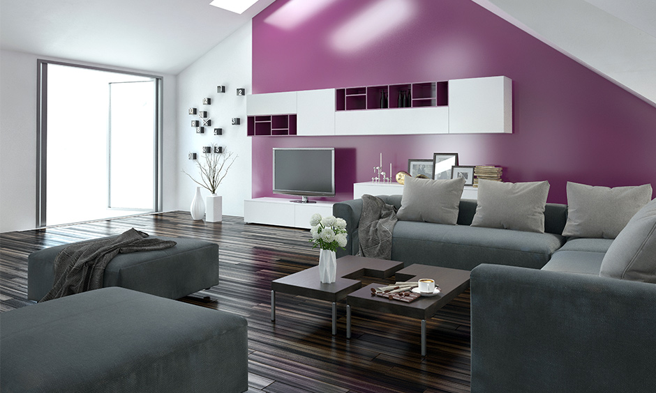 Wall Colour Combination for Living Room   Design Cafe