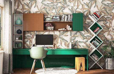 Study room interior design ideas for your home.