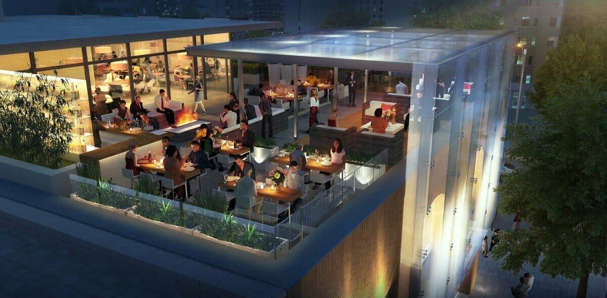 Rooftop Restaurant /Restro Bar Space for Rent on Tonk Road Jaipur