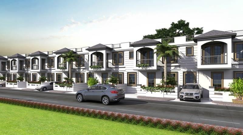 3, 4 Bhk Premium Villa for Sale in Gated Commnunity on Ajmer Road Jaipur