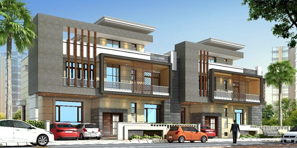 Front Elevation In Jaipur : Bhk luxury villa for sale near vaishali nagar jaipur
